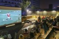 Soccer fans watch the match between Russia vs Saudi Arabia at the opening of the 2018 Fifa World Cup Russia at the AIO SPACE in Beijing on Thursday evening Jun. 14, 2018. 14JUN18 SCMP/Simon Song