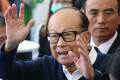 Hong Kong billionaire Li Ka-shing's philanthropy arm has invested in a California company that makes products to improve children's health. Photo: Dickson Lee