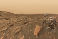 A selfie by NASA's Mars Curiosity rover during a Martian dust storm. Photo: NASA/JPL-Caltech/MSSS/Kevin M. Gill (CC BY 2.0)