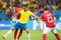 Brazil's midfielder Renato Augusto on his return to action against Switzerland. Photo: EPA