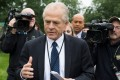 White House Director of Trade Policy Peter Navarro in Washington, DC, on June 4, 2018. Photo: AFP
