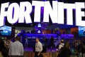 Fortnite was all the rage at this year's Electronic Entertainment Expo in Los Angeles. Photo: Bloomberg