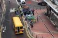 The incident took place on Ap Lei Chau Main Street, Ap Lei Chau. Photo: Facebook