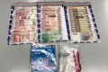 Banknotes and a notebook seized in the Tai Po operation. Photo: Hong Kong Police Force
