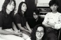 Hong Kong rock band Beyond (from left): Steve Wong Ka-keung, Paul Wong Koon-chung, Lau Chi-yuen ( a guitarist who left the line-up in 1989), Wong Ka-kui and Gunno Yip Sai-wing. Photo: SCMP