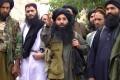 Mullah Fazlullah (centre) in 2014. Photo: EPA
