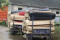 Thousands of coffins were handed over in Gaoan county, Jiangxi province, last week as China promotes cremation. Photo: Thepaper.cn