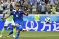 Gylfi Sigurdsson of Iceland takes a penalty kick against Nigeria in Volgograd, Russia, on June 22. Although Iceland lost the Group D match 2-0, they had stunned the world by holding Argentina to a draw the previous weekend. Photo: Xinhua