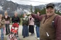 A 2008 photograph of Winston Blackmore, the religious leader of the Canadian polygamous community of Bountiful located near Creston, British Columbia, with six of his daughters and some of his grandchildren. On Tuesday, Blackmore was sentenced to six months house arrest. Photo: Canadian Press via AP