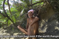 Masafumi Nagasaki was returned to civilisation despite his desire to remain on the remote island where he lived for 29 years. Photo: Docastaway - Desert Island Experiences via YouTube