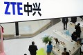 ZTE is accused of violating trade laws by selling sensitive technologies to North Korea and Iran. Photo: AP
