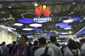 Visitors tour Huawei Technologies' booth during the Mobile World Congress in Shanghai last month. US security concerns are expected to keep both Huawei and ZTE Corp locked out of the US$136 billion North American telecommunications equipment market, according to analysts. Photo: AP
