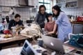 Employees of the e-commerce startup 'gogoand' working on their website in Shanghai. Start-ups in China accounted for 47 per cent of the world's venture capital funding in the three months ended June, compared with a combined 35 per cent for the US and Canada, according to a report by Crunchbase. Photo: AFP