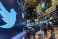 Twitter shares fell sharply on the newspaper report that user metrics would be hit by fake account suspensions, before recovering some ground. Photo: Reuters