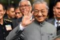 Malaysian Prime Minister Mahathir Mohamad turned 93 on Tuesday. Photo: Xinhua