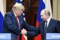 US President Donald Trump with Russian President Vladimir Putin. Photo: Xinhua