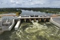 The Soubre hydroelectric dam in Ivory Coast, built by China's state-run Sinohydro. Photo: AFP