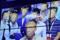 Visitors experience facial recognition technology at the Face++ booth during the China Public Security Expo in Shenzhen, China October 30, 2017. Photo: Reuters