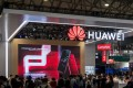 Huawei mobile segment chief Richard Yu Chengdong said Huawei is seeing its fastest handset shipment rate in years. Photo: AFP