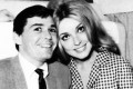 Jay Sebring, hairstylist to Bruce Lee and other stars, with actress Sharon Tate, his former girlfriend, with whom he was killed along with three others by the Manson Family in 1969. Photo: Sharon Tate/YouTube