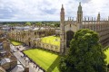File photo of Cambridge University and Kings College Chapel. The British government says it is keen to attract foreign students. Photo: Shutterstock