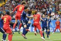 Japan's solid showing in the soccer World Cup could hasten Japan's embrace of the beautiful game – and further undermine baseball's popularity. Photo: Kyodo