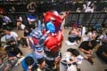A costumed participant attends the Bilibili Macro Link 2017 annual convention of animation, comics and games in Shanghai. After criticism for inappropriate content, the video site said it will increase self checking on published content. Photo: AFP