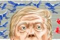The hawks have US President Donald Trump's ear on trade. illustration: Lau Ka-kuen