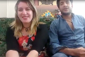 Sawsan Elshafey and Hani Shalaby appear on YouTube. Photo: Internet