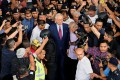 Najib Razak, Malaysia's former prime minister, leaves the Kuala Lumpur Courts Complex in Kuala Lumpur on Wednesday, July 4, 2018. Najib pleaded not guilty to charges of corruption and criminal breach of trust in connection with a multibillion-dollar scandal surrounding state fund 1MDB. Photo: Samsul Said/Bloomberg