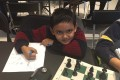 Nine-year-old Abhimanyu Mishra is the youngest ever chess master in the United States. Photo: US Chess School