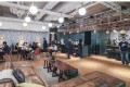 An interior view of WeWork's co-work space in Causeway Bay. Photo: Jonathan Wong