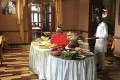 The buffet lunch at the Itegue Taitu Hotel, in Addis Ababa, Ethiopia, would have pleased the protagonist of Evelyn Waugh's satire, Scoop, greatly. Picture: Ian Gill