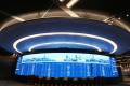 Video Wall at HKEX Connect Hall at the Exchange Square in Central. 28FEB18 SCMP / Xiaomei Chen