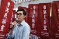 Chan Ho-tin, convenor of Hong Kong National Party, which advocates for Hong Kong's independence from China, is scheduled to give a talk at the Foreign Correspondents' Club on August 14. Photo: Sam Tsang
