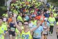 Runners tackle the 2018 Standard Chartered Hong Kong Marathon. Photo: Dickson Lee