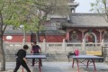 Ping pong tables outside the Daci Pavilion, in Hebei province, China. Pictures: Thomas Bird