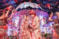 Indian wedding are often costly multi-day extravaganzas that include pyrotechnics, Bollywood actors, international music stars and thousands of guests. Photo: Ali Ghorbani