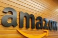 The logo of Amazon is pictured inside the company's office in Bengaluru, India, April 20, 2018. Photo: Reuters