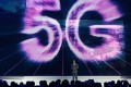 The big topic at CES this year is 5G, which Xu Zhijun of Huawei speaks about here on December 3, 2017 at the Fourth World Internet Conference in Wuzhen, China. Photo: Xinhua
