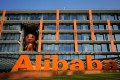 The logo of Alibaba Group Holding is seen at the company's headquarters in Hangzhou. Photo: Reuters
