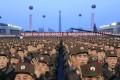 North Korean soldiers in Pyongyang. Photo: AP