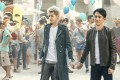 Tony Leung (right) and Kris Wu in a still from Europe Raiders (category IIA; Cantonese, English), directed by Jingle Ma. Tiffany Tang co-stars