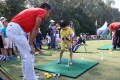 Children receive golfing tips at the Hong Kong Golf Club in Fanling, in October 2015. Photo: K.Y. Cheng