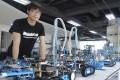 Jasen Wang, founder of Shenzhen educational robot company Makeblock. Photo: AP