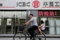 The country's 'big four' banks, including Industrial and Commercial Bank of China, are riding high on a surge in government infrastructure investment. Photo: Reuters