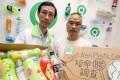 The Green Earth's executive director Edwin Lau Che-feng (left) and Hahn Chu. Photo: Dickson Lee