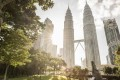 The Four Seasons Hotel Kuala Lumpur is located next to the stunning and iconic Petronas Twin Towers.