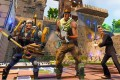 Characters from the Fortnite video game prepare to fight to the death. The game's revenue growth has slowed. Photo: NZME