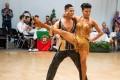 Ezekiel Vargas and Niel Enopia at the Gay Games in Paris. Photos: Handout